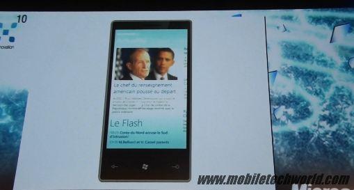 Программа Le Figaro для Windows Phone 7