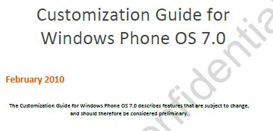 The Customization Guide for Windows Phone 7