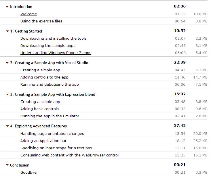 Базовые навыки разработки для WP7 на Silverlight