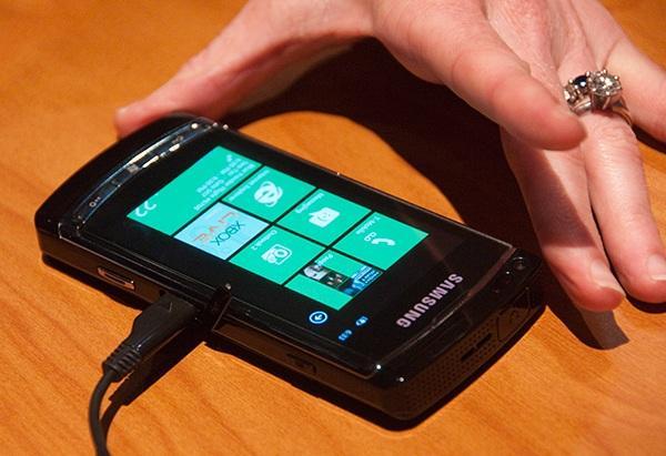 WP7 Samsung Taylor