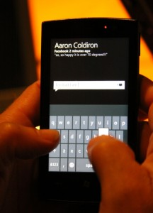 Windows Phone 7 - контакты