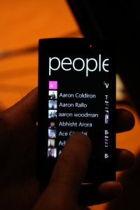 Windows Phone 7 - диалер