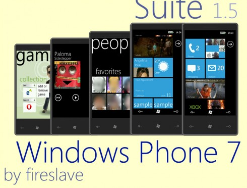 Windows Phone 7 тема для ThrottleLauncher