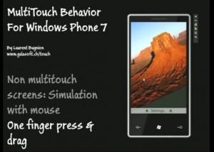 MultiTouch Behavior