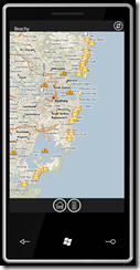 Beachy - карта