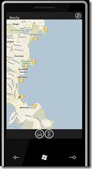Beachy - зум карты