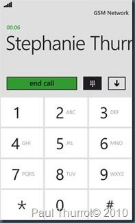 Звонилка в WP7