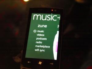 Windows Phone 7 - Music