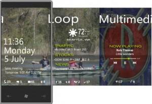 Windows Phone 7 - lock screen альтернативный