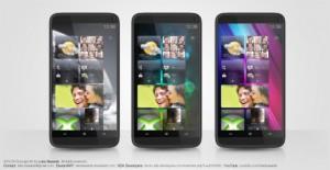 HTC HD3 концепт