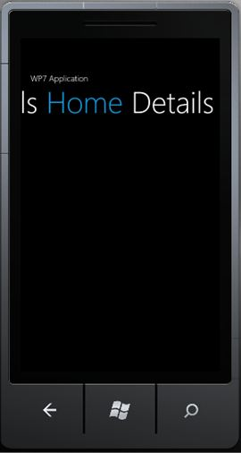 MVVM Windows Phone 7