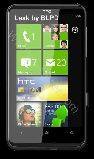 Коммуникатор HTC HD7