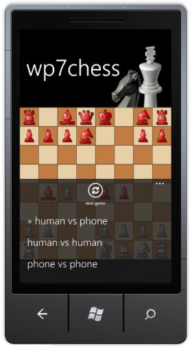 WP7chess - шахматы для WP7 с исходным кодом