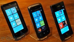 Samsung Omnia 7, HTC HD7 и HTC 7 Mozart