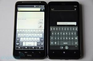 Клавиатура HTC HD7 и HTC Desire