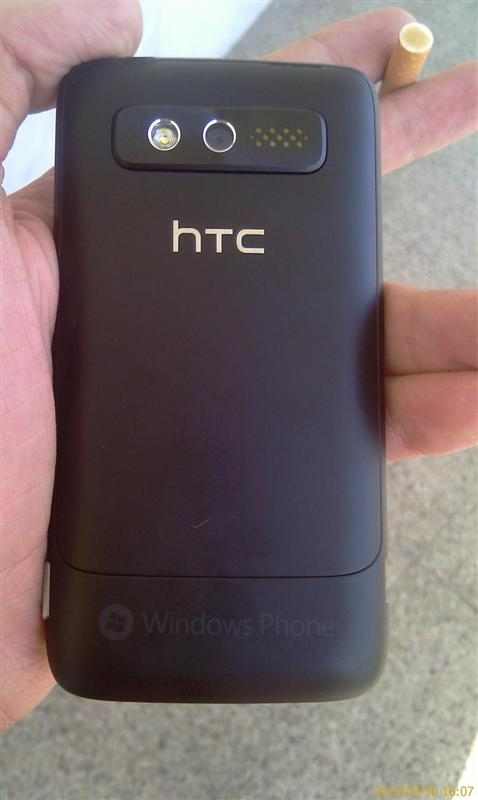 HTC Spark / HTC Mondrian. Вид сзади