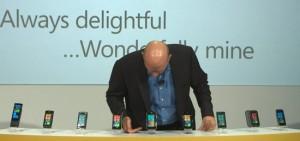 Steve Ballmer - презентация Windows Phone 7