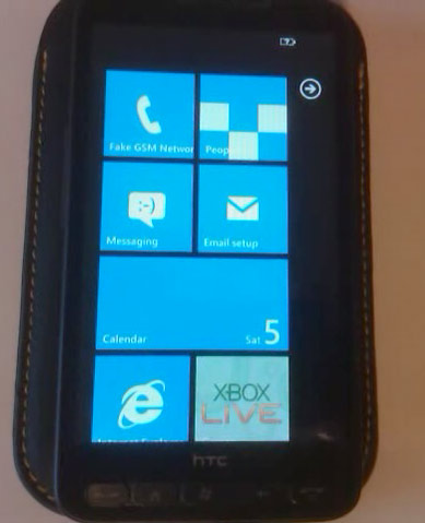 Windows Phone 7 на HTC HD2
