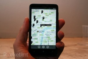 HTC HD7 - Bing Maps