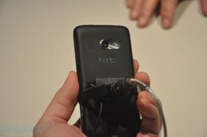 HTC Surround. Вид сзади