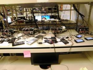 Стенд для тестирования коммуникаторов в Microsoft