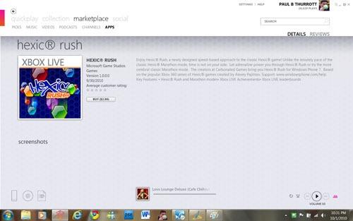 Информация о игре Hexic Rush