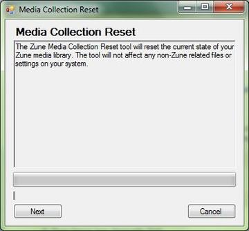 Zune Media Reset Tool