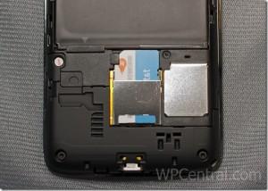 Разобранный HTC Surround