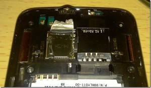 Разобранный HTC HD7