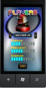 Robot Strike - параметры персонажа