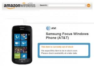Amazon - Samsung Focus