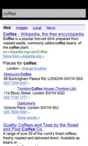 Google Search - результаты поиска