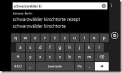 Google Instant на Windows Phone 7