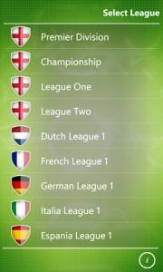 myFC - выбор чемпионата