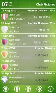 myFC - расписание матчей