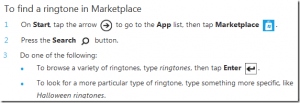 Рингтоны на Windows Phone 7 Marketplace
