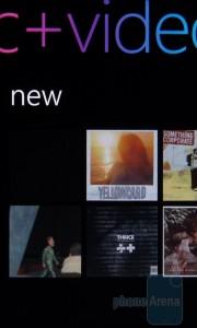 Музыкальный плеер в HTC Surround