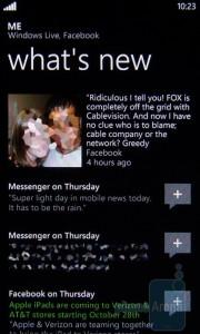 Windows Phone 7 - интеграция с социальными сетями