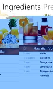 Cocktail Flow - ингредиенты