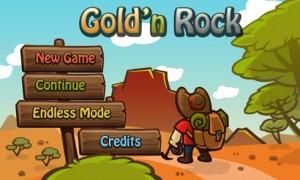 Gold`n`Rocks - меню