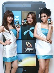 HTC HD7 на тайском - QuickPost