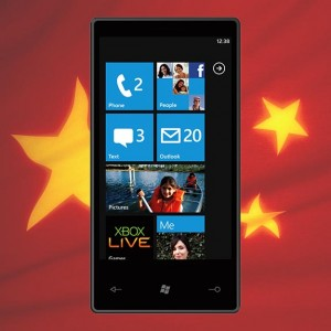 Windows Phone 7 в Китае