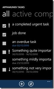 Appa Mundi Tasks