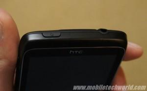 HTC 7 Trophy - кнопка включения