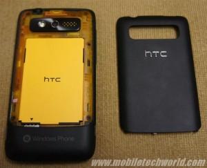 HTC 7 Trophy - в разборе