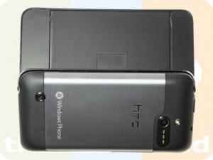 HTC Pro 7 - вид сзади