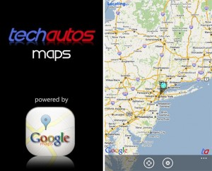 Google Maps для Windows Phone 7
