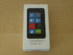 Упаковка HTC HD7