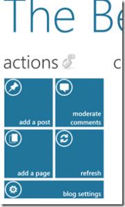 WordPress на Windows Phone 7