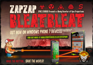 Zap Zap Bleat Bleat - игра для Windows Phone 7